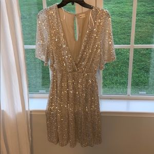 NWT sequin Altar'd state dress